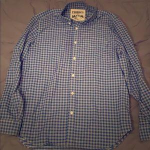 Chubbies The Gingham Full Button Shirt, L
